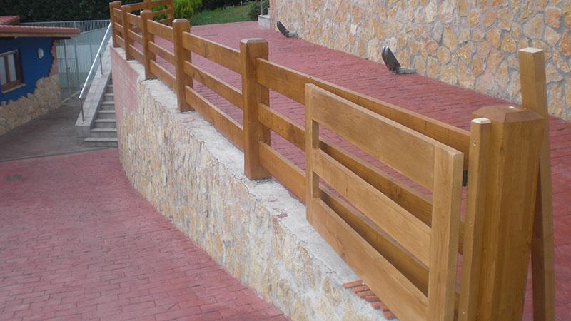 Vallas carpinteria exterior